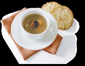 たっぷり野菜と黒豆のスープ