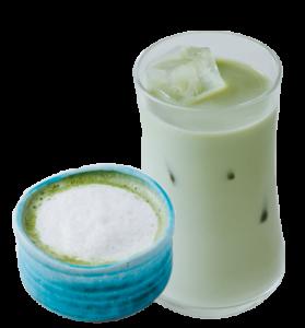 緑抹茶のロイヤルミルクティー